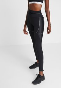 Nike Performance - CITY REFLECT - Collants - black/reflect black - 0