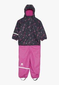CeLaVi - RAINWEAR SET - Kalhoty do deště - real pink - 0