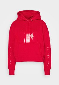 Calvin Klein Jeans - ECO HOODIE - Huppari - red - 4