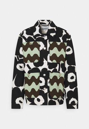 CO CREATED KAURIS COAT - Summer jacket - white/black/green