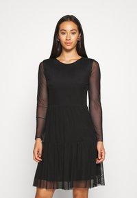 JDY - JDYDIXIE LAYER DRESS - Day dress - black - 0