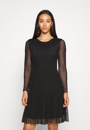 JDYDIXIE LAYER DRESS - Day dress - black