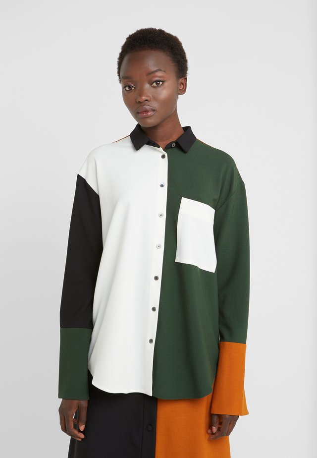 COLOUR BLOCK SHIRT - Bluser - black/multi