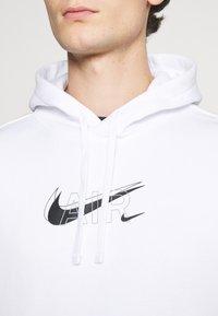 Nike Sportswear - HOODIE PO AIR  - Sweatshirt - white - 5