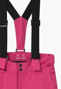 Name it - NKFSNOW03 PANT - Spodnie narciarskie - fuchsia purple - 3