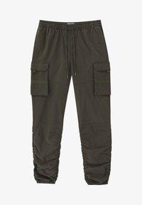 PULL&BEAR - Cargo trousers - khaki - 5