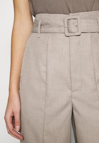 Gestuz - VIRA PANTS - Trousers - walnut - 5