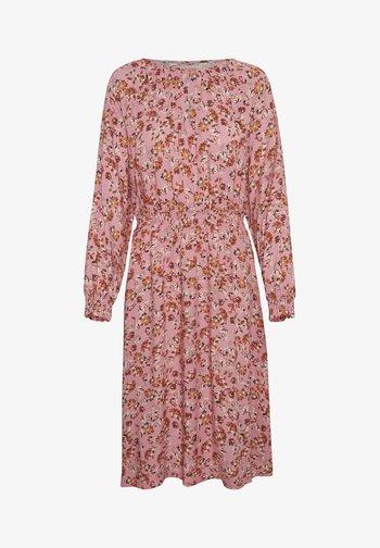 HILAL - Day dress - flower print, sea pink