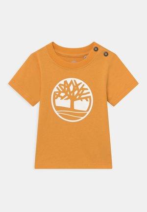 SHORT SLEEVES  - T-shirt print - gold yellow