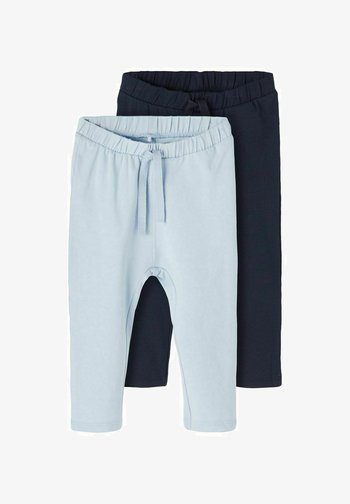 2ER-PACK - Trousers - cashmere blue