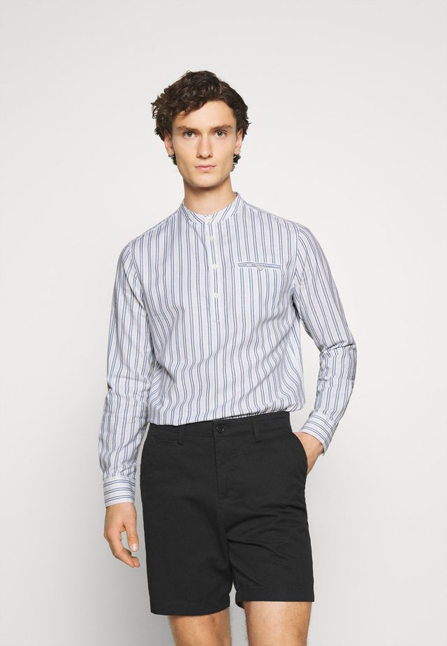 LONG SLEEVE ORGANIC BLEND SHIRT  - Shirt - white