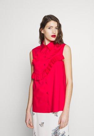 Hemdbluse - red