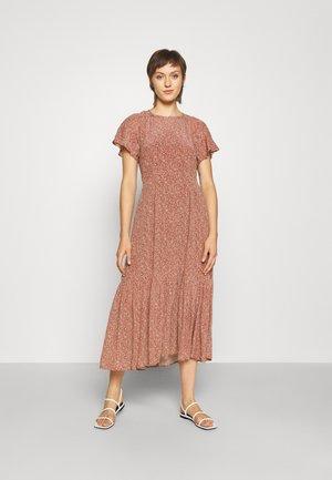 RAE DRESS - Day dress - harvest rust