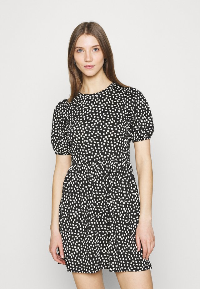 SYLVIE DRESS - Korte jurk - black