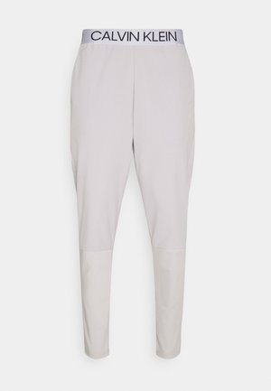 MIX FABRIC PANT UNISEX - Tracksuit bottoms - beige