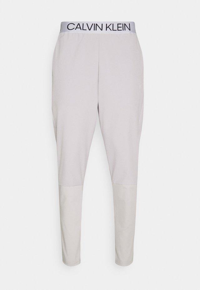 MIX FABRIC PANT UNISEX - Teplákové kalhoty - beige