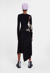 Desigual - VEST_ROSE - Day dress - black - 2