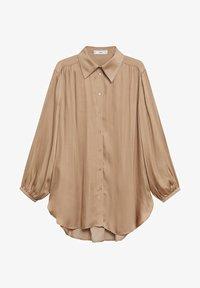 Mango - VAMPI-A - Button-down blouse - beige - 5
