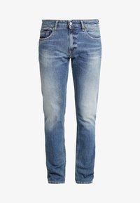 SCANTON HERITAGE - Slim fit jeans - light-blue denim