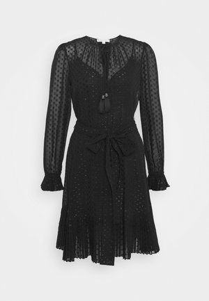 TASSLE DRESS - Cocktail dress / Party dress - black