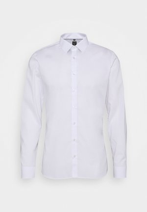 LEVEL FIVE BODY SUPER SLIM FIT STRETCH  - Shirt - white