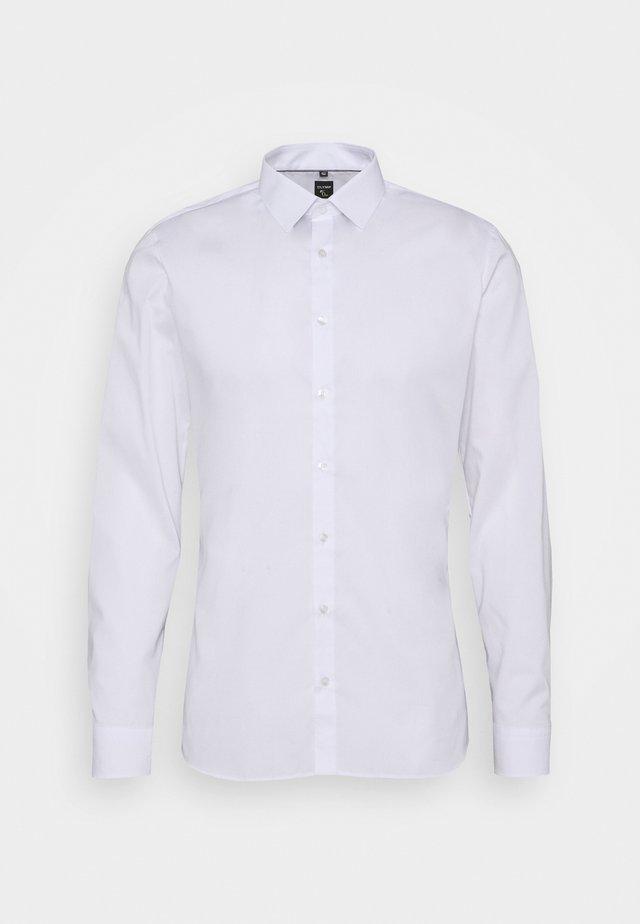LEVEL FIVE BODY SUPER SLIM FIT STRETCH  - Overhemd - white