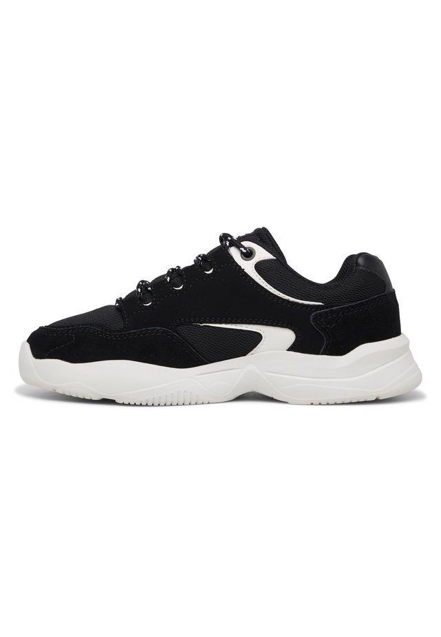 DECEL - Sneakers laag - black/cream