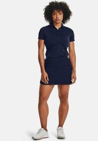 Under Armour - ZINGER SHORT SLEEVE - Sports shirt - midnight navy - 1