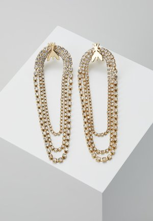 ORECCHINI CON PIETRE - Earrings - gold-coloured