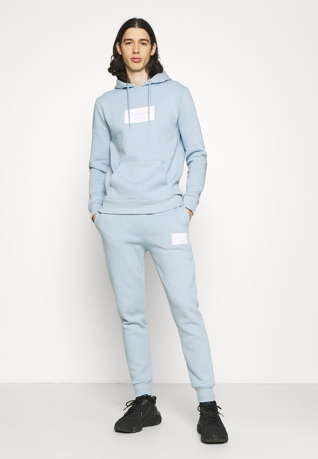BOX LOGOTRACKSUIT SET - Träningsset - blue