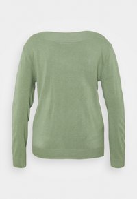 ONLY Carmakoma - CARAMA BOATNECK - Pullover - hedge green - 1