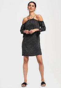 Superdry - Denní šaty - black - 1