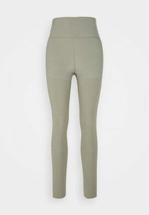 LUXE LAYERED 7/8 - Collants - light army/stone