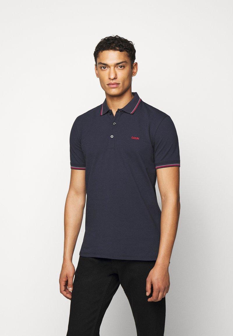 HUGO - DINOSO - Polo shirt - dark blue