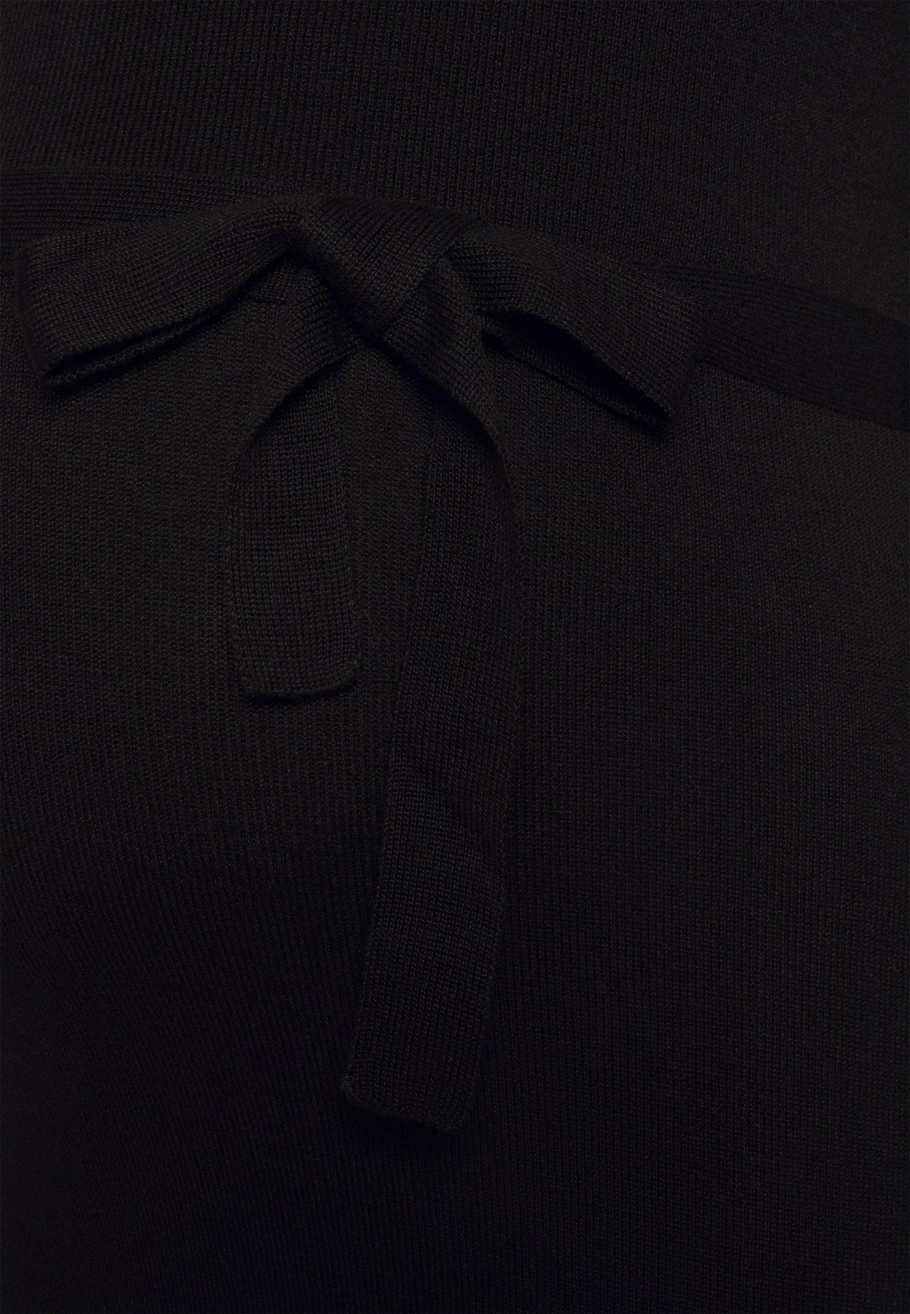 MAMALICIOUS MLJACINA NELL DRESS Strickkleid black/schwarz