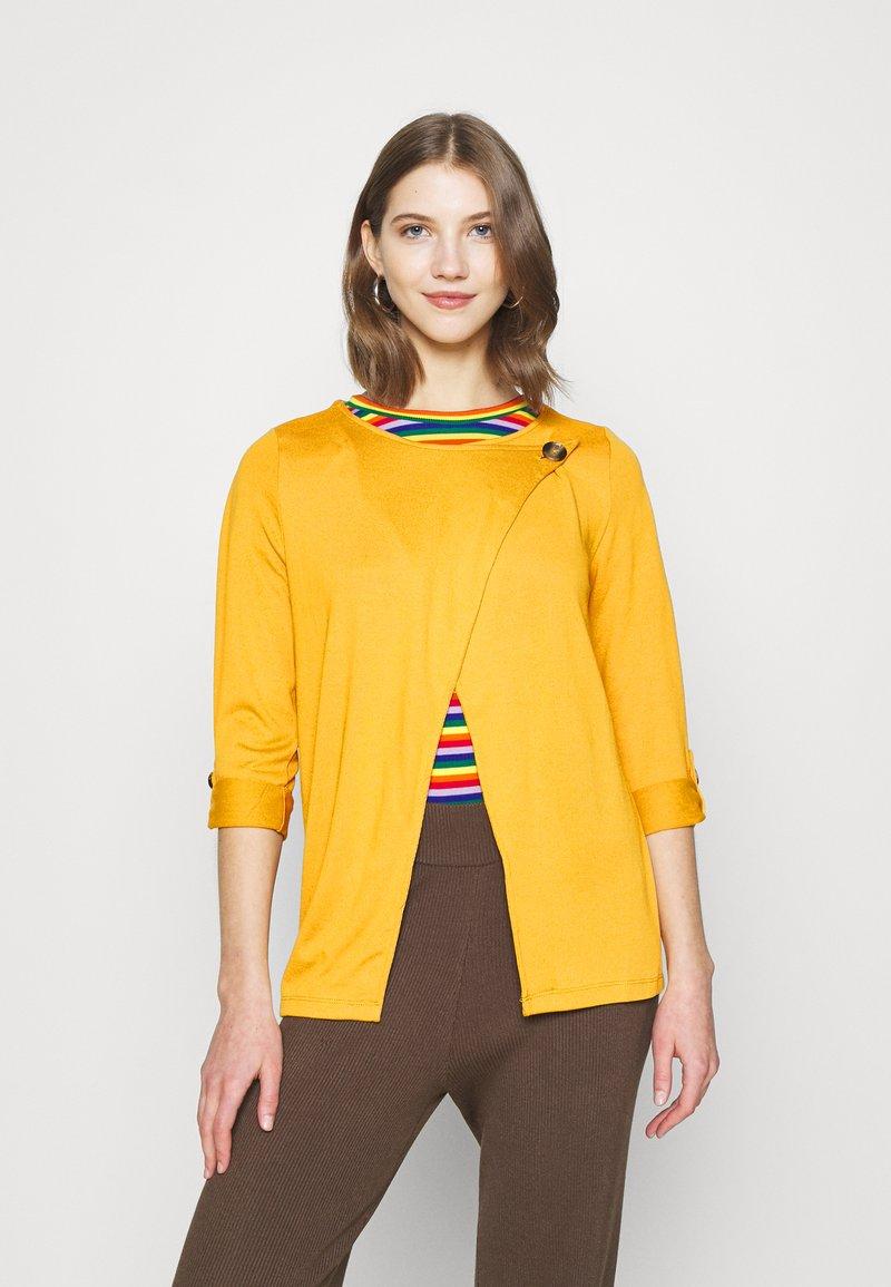 ONLY - ONLELLE CARDIGAN - Cardigan - golden yellow