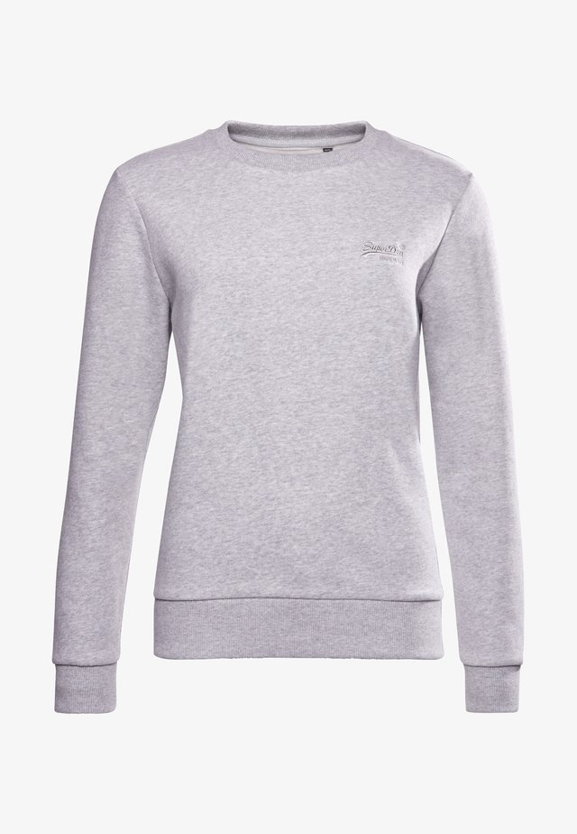 Sweater - light grey marl