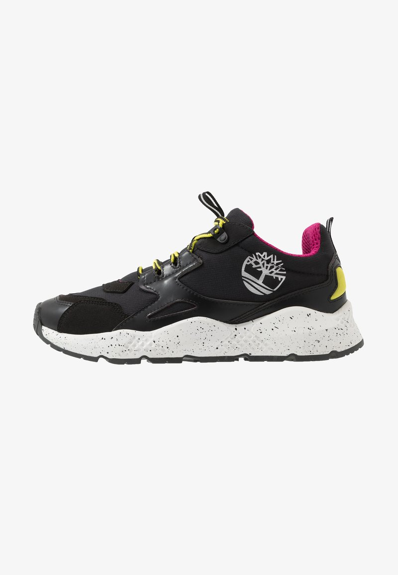 Timberland - RIPCORD LOW SNEAKER - Trainers - black/pink