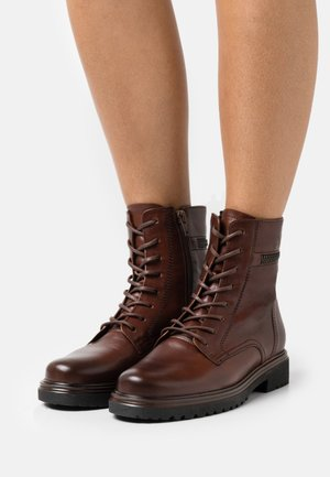 Lace-up ankle boots - sattel