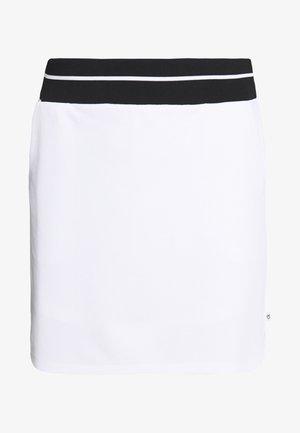 DUNE SKORT - Spódnica sportowa - white/black