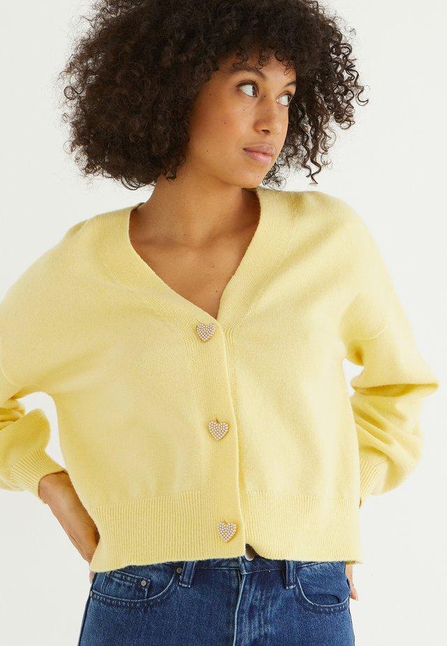 HEART  - Kofta - yellow