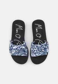Marc O'Polo - MONIKA  - Pantofle - blue/white - 5