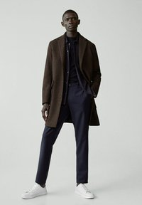 Mango - DEVON - Short coat - braun