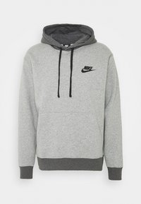 Nike Sportswear - SUIT BASIC SET - Training jacket - dark grey heather/charcoal heather/black - 1
