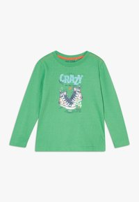 Blue Seven - KIDS SHOE PRINT CRAZY - Long sleeved top - apfel original - 0