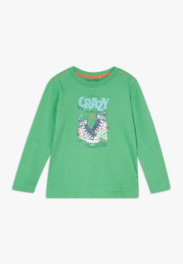 KIDS SHOE PRINT CRAZY - Top sdlouhým rukávem - apfel original