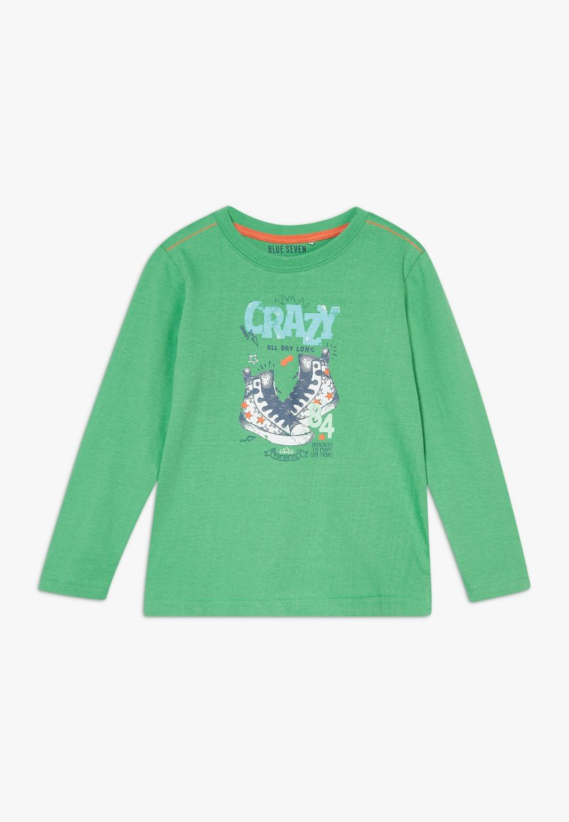 Blue Seven - KIDS SHOE PRINT CRAZY - Long sleeved top - apfel original