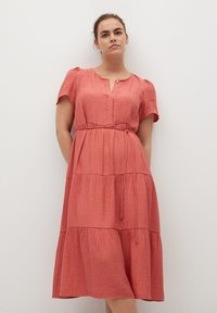 Violeta by Mango - TENCI - Day dress - corail - 0