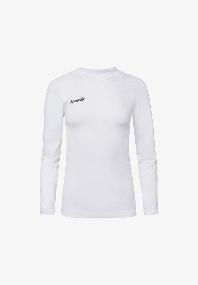 SAREK - T-shirt sportiva - white