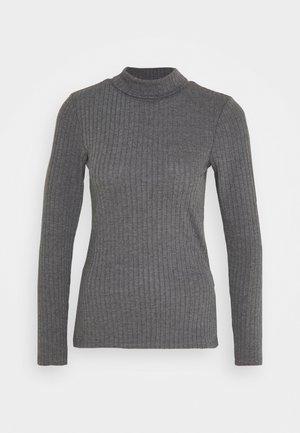 FASEY - Trui - dark grey melange